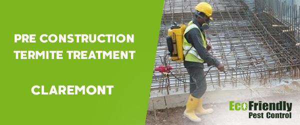 Pre Construction Termite Treatment  Claremont