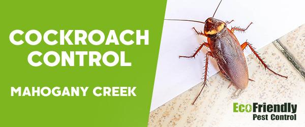 Cockroach Control MAHOGANY CREEK