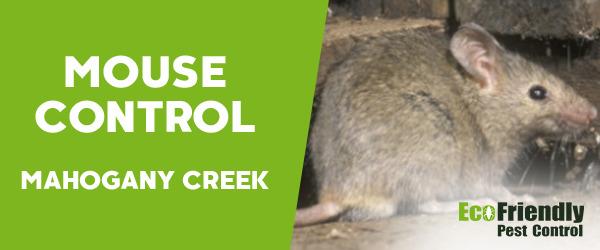 Mouse Control MAHOGANY CREEK