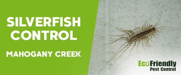 Silverfish Control MAHOGANY CREEK