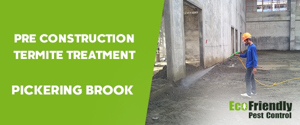 Pre Construction Termite Treatment Pickering Brook