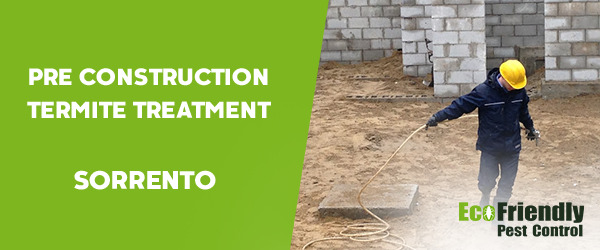 Pre Construction Termite Treatment Sorrento