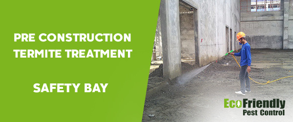 Pre Construction Termite Treatment Safety Bay