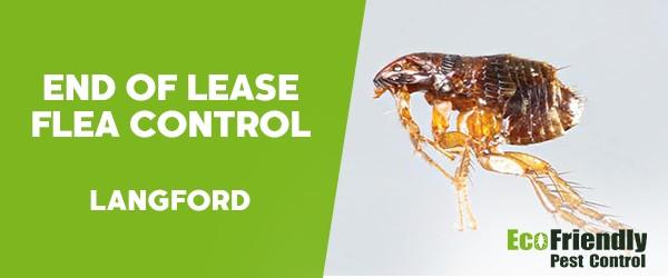 End of Lease Flea Control  Langford