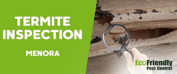Termite Inspection  Menora