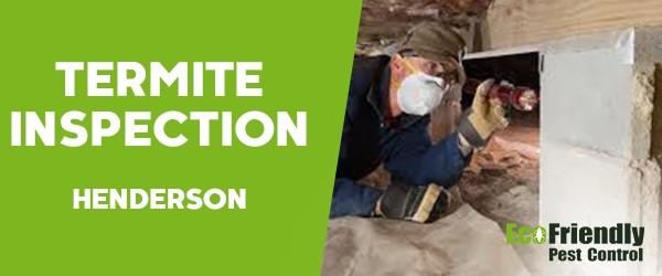 Termite Inspection  Henderson