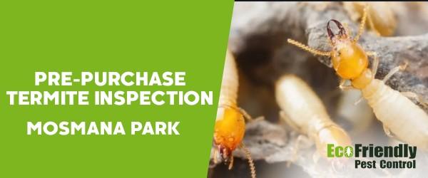 Pre-purchase Termite Inspection  Mosman Park