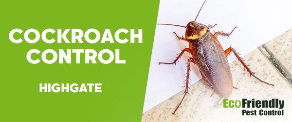 Cockroach Control  Highgate