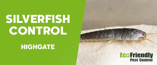 Silverfish Control  Highgate