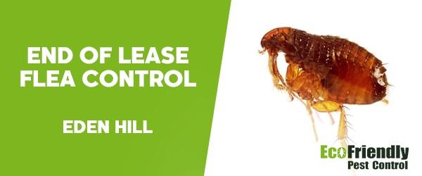 End of Lease Flea Control  Eden Hill