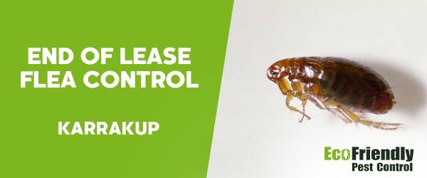 End of Lease Flea Control  Karrakup
