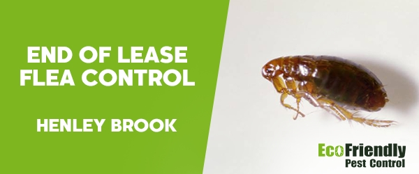 End of Lease Flea Control Henley Brook