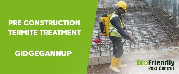 Pre Construction Termite Treatment  Gidgegannup