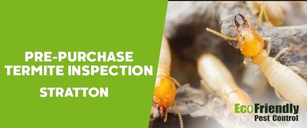 Pre-purchase Termite Inspection  Stratton