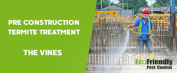 Pre Construction Termite Treatment The Vines
