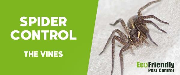 Spider Control The Vines