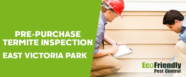 Pre-purchase Termite Inspection  East Victoria Park
