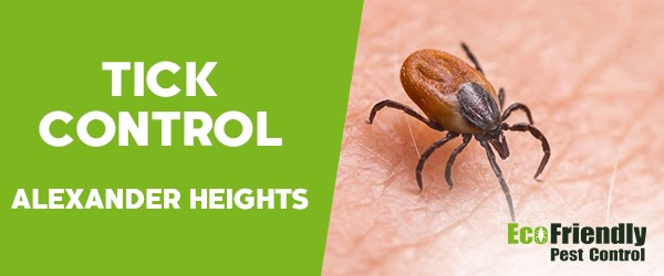 Ticks Control Alexander Heights