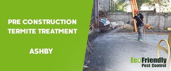 Pre Construction Termite Treatment Ashby