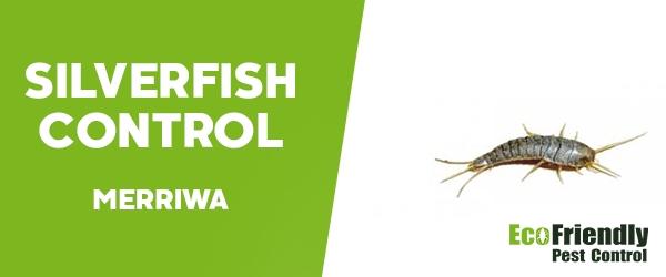 Silverfish Control Merriwa