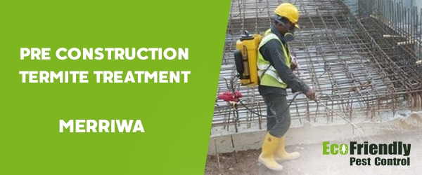 Pre Construction Termite Treatment Merriwa
