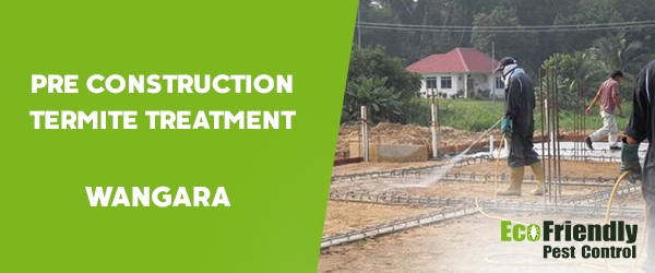 Pre Construction Termite Treatment  Wangara