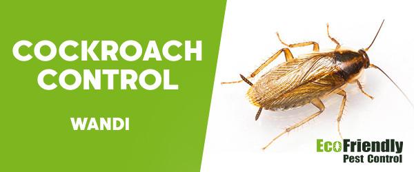 Cockroach Control Wandi