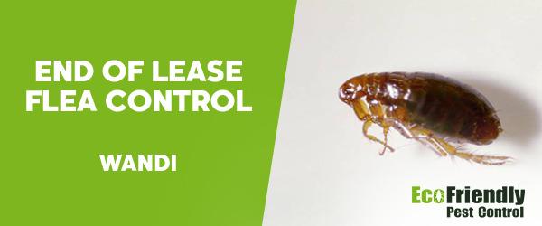 End of Lease Flea Control Wandi