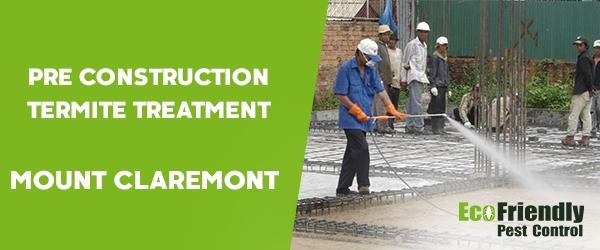 Pre Construction Termite Treatment Mount Claremont