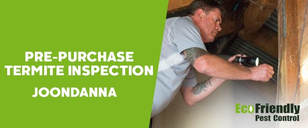 Pre-purchase Termite Inspection  Joondanna